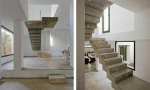 Бетонная лестница в частном доме своими руками