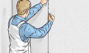 Как правильно клеить обои на бетонную стену