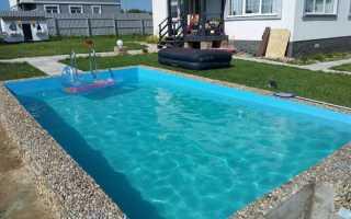 Обустройство бетонных бассейнов: как выполнять работы