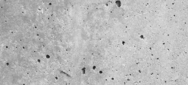 Требования к классу бетонной поверхности