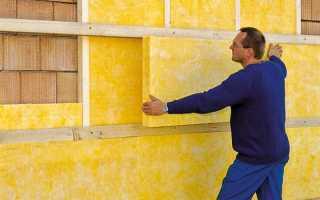Утепление бетонных стен жилого дома