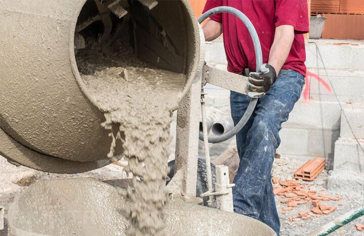 бетон в бетономешалке