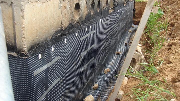 Дрениз - рулонный гидроизоляционный материал