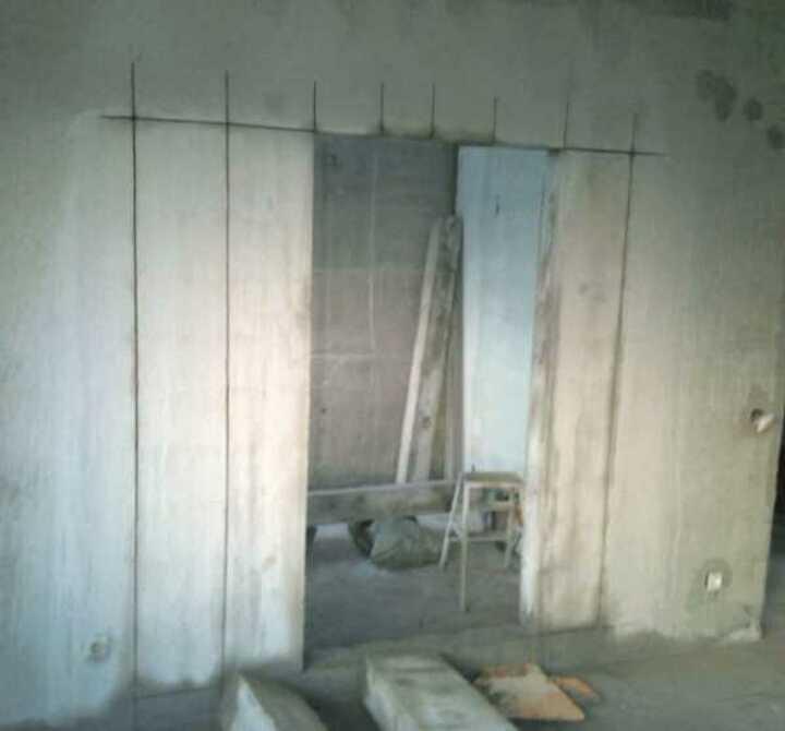Нарезка бетонного проёма