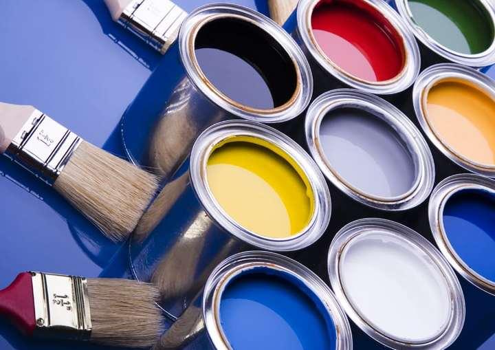как покрасить бетонные стены