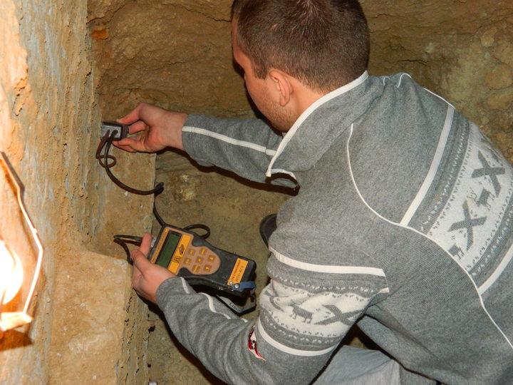 измерение защитного слоя бетона прибором ИПА -МГ4