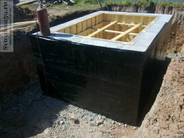 обмазочная гидроизоляция погреба