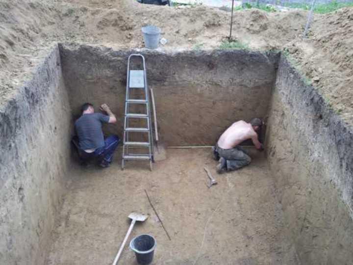 основание для погреба