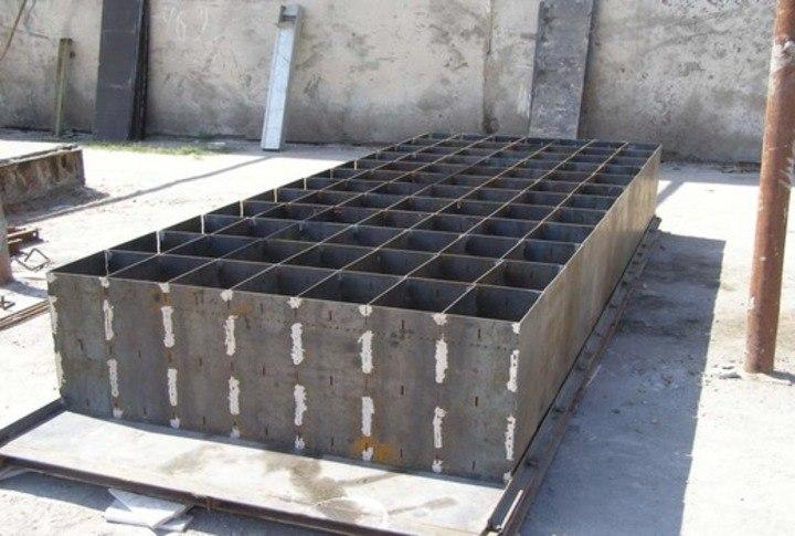 формы для изготовления пенобетонных блоков