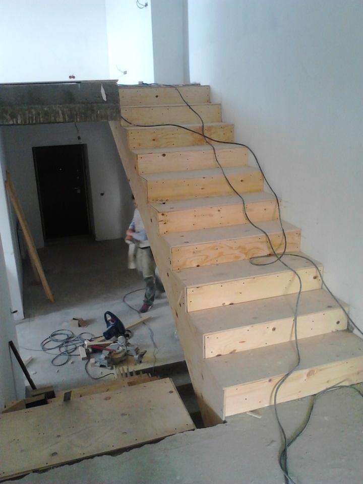 отделка бетонной лестницы деревом гидроизоляция фанерой перед укладкой дерева